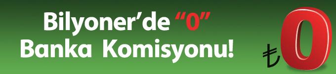 0 Komisyon!