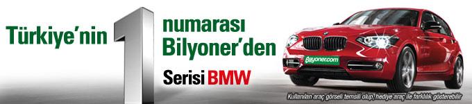 Türkiye'nin 1 Numarası Bilyoner'den 1 serisi BMW!