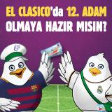 Yeni Yılda Rota El Clasico!
