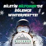 Biletin Bilyoner'de Eğlence Winterfest'te!
