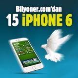Bilyoner'den 15 Günde 15 iPhone 6