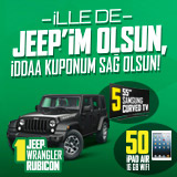 İlle de Jeep'im Olsun, İddaa Kuponum Sağ Olsun!