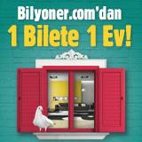 5 TL'ye 1 Ev Sadece Bilyoner.com'da!