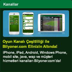 Oyun Kanalı Çeşitliliği ile Bilyoner.com Elinizin Altında!